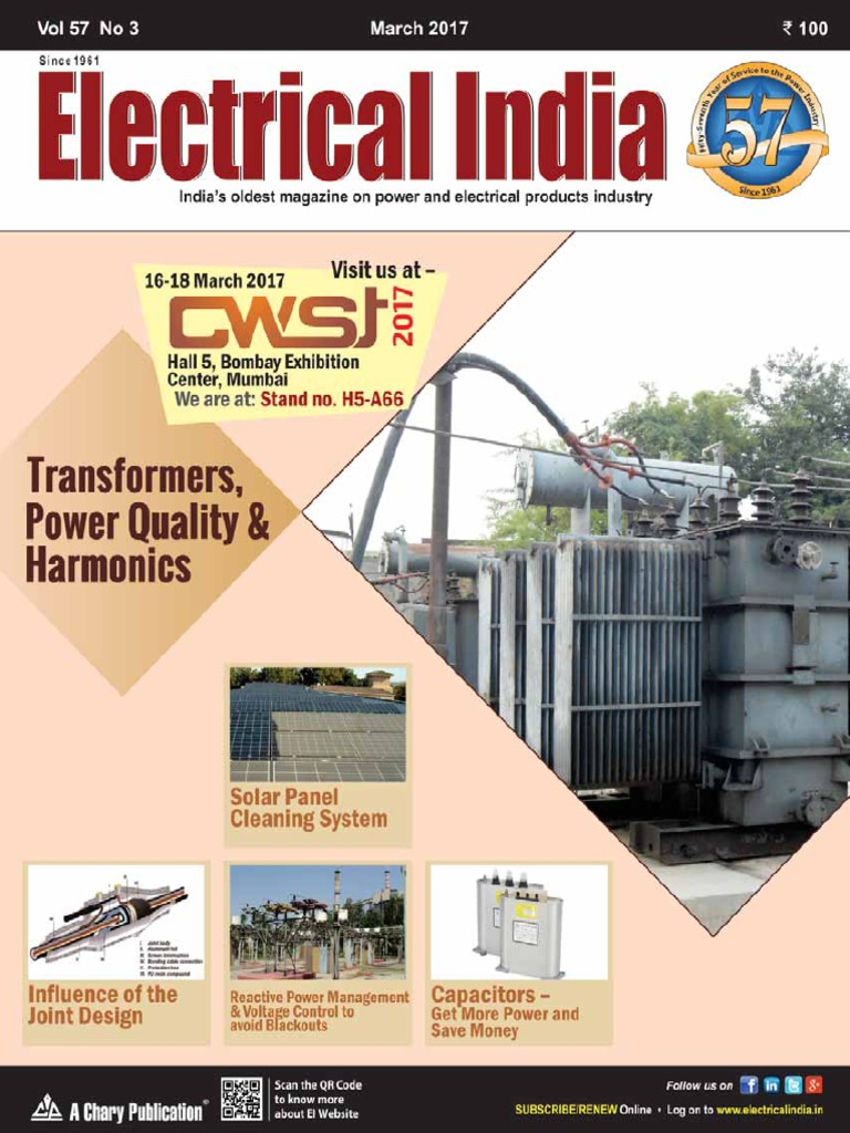 Electrical India March 2017 Grid Renewable Energy Control Panel Design Basics O Oem Panels