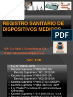 2 DISPOSITIVOS MEDICOS Decreo sup remo N° 016-2011-SA pptx (1)  2 11  17