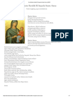 Doa Wanita Katolik RI Kepada Santa Anna _ WKRI