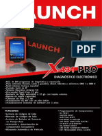 Scanner Launch X-431 Pro