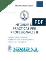 Informe de Practicas II