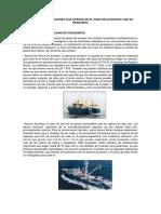 Tipos de Embarcaciones Que Operan en El Peru Relacionado Con Su Pesqueria