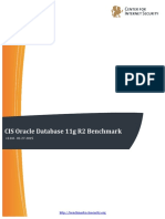 CIS Oracle Database 11g R2