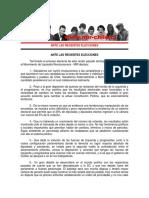 DECLARACIÓN PÚBLICA - Comité Central - 22 de Noviembre de 2017