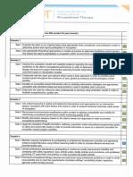 self assessment tool portfolio