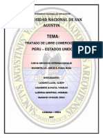 Tratado de Libre Comercio Peru Estados Unidos