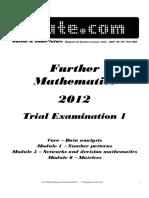 [Further] 2012 iTute Exam 1.pdf
