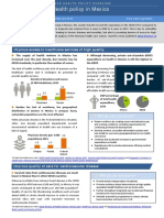 Health Policy in Mexico February 2016