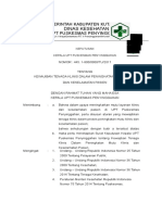326226433 SK Kewajiban Semua Praktisi Klinis Berperan Aktif Dalam Upaya Peningkatan Mutu Doc