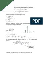 Analisis de Fourier Para Una Señal Cuadrada