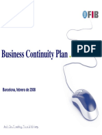 Business Continuity Plan. Barcelona, Febrero de 2008