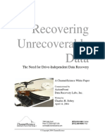 Drive-Independent Data Recovery Ver14Alrs