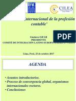 """""""El contexto internacional de la profesión contable"""""""