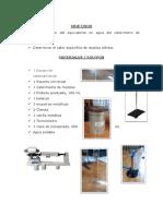 Informe Final Fisica Calor Especifico
