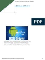 Cómo Instalar Los Drivers en El PC de Un Teléfono Chino
