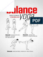 Balance Yoga Workout