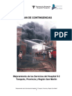 Plan de Contingencias Hospital