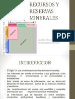 Recursos y Reservas Minerales