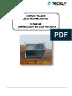 Informe de Caja Metalica (1)