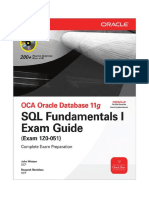 143950331 Oracle 11g SQL Fundamental Exam Guide Exam 1Z0 051