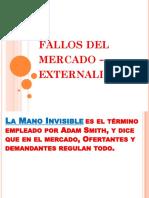 Fallos Del Mercado y Externalidades