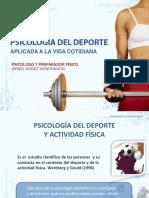 Psicología Del Deporte y Actividad Física