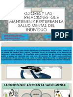 Salud Mental Factores Que Afectan Al Individuo 1