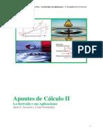 Apuntes de Cálculo II Primera parte Derivadas y sus Aplicaciones   2010