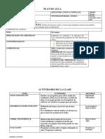 Plan de Clase El Resumen