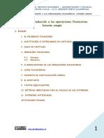 Unidad 1 Introducción a Las Operaciones Financieras-Interés Simple