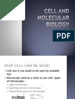 Bab 2 Cell Molecular Part 1