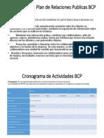 Estrategias Del Plan de Relaciones Publicas BCP