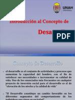 Clase 1 Introducción Al Concepto de Desarrollo