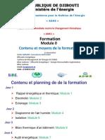 Module 0 - Contenu Et Moyen de La Formation