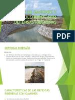 uso de gavioness y colchones para defensas ribereñas.pptx