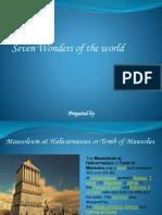 Ancient Wonders of World