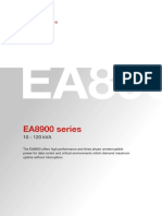 Brochure EA8900 Series