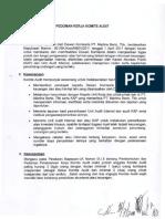 Pedoman Kerja Komite Audit