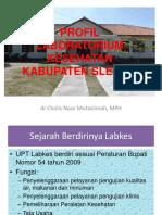 Laboratorium Kesehatan Sleman