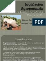 Legislación Agropecuaria
