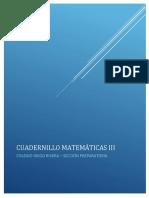 Cuadernillo Mate III
