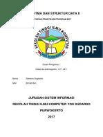 3. LAPORAN PRAKTIKUM BST ( Salah Program Di Root Sama Logika Preorder)