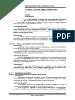 9. Especificaciones Tecnicas -Cerco Perimetrico OK! OK!