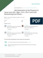 Genreación de cianuro bacteriano en presencia de metales.pdf