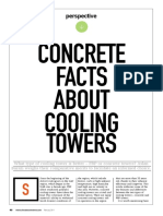 Concrete vs FRP Cooling Towers.
