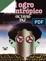 Paz, Octavio - El Ogro Filantropico [41015] (r1.0)