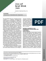 Biomechanics of Intervertebral Disk Degeneration