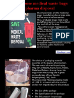 How to Choose Medical Waste Bags for Pharma Disposal - ldpebag.com