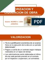 VALORIZACIONES Y LIQUIDACION DE OBRA (2).pdf