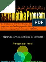 (3) Sistematika Program BTQ